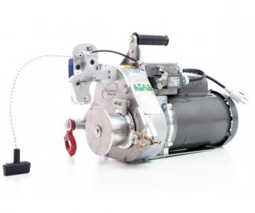 AC ELECTRIC PULLING/LIFTING WINCH 50HZ/230V. PULL FORCE: 820 KG. LIFT. CAP.: 250 KG